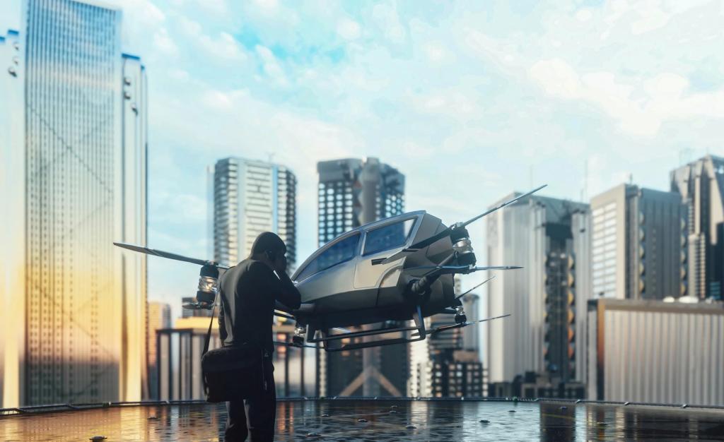 Los Angeles lanza programa de movilidad aérea urbana